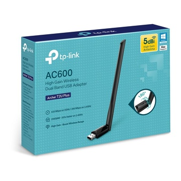 TP-Link Archer T2U Plus WLAN 600 Mbit/s Interno