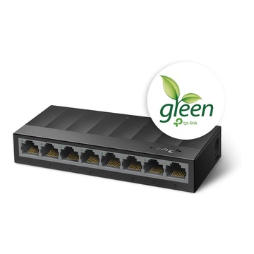 TP-Link LS1008G switch di rete Non gestito Gigabit Nero