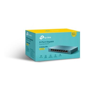 TP-Link LS108G Non gestito Gigabit Blu