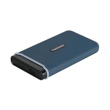 Transcend ESD350C 240 GB Blu, Blu marino