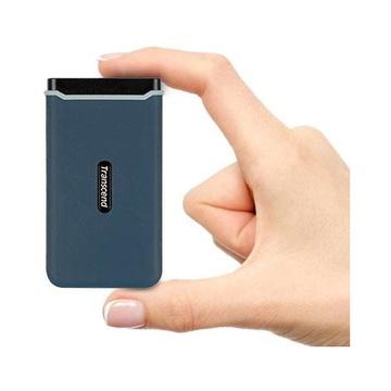 Transcend ESD350C 960 GB Blu, Blu marino