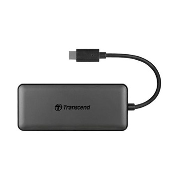 Transcend HUB5C USB 3.1 (3.1 Gen 2) Type-C 10000 Mbit/s Nero