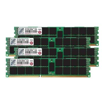 Transcend JetRam TS128GJMA534P 128 GB 4 x 32 GB DDR3 1600 MHz Per Server