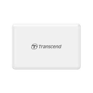 Transcend RDF8 Lettore di schede Micro-USB Bianco