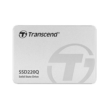 """Transcend SSD220Q 2.5"""" 2 TB SATA III QLC 3D NAND"""