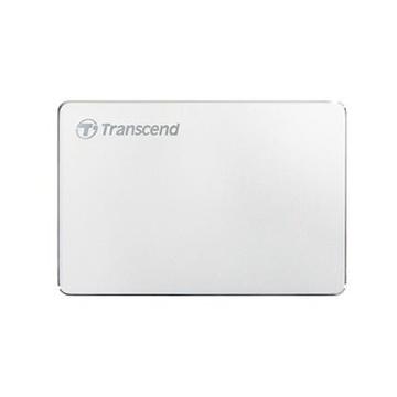 Transcend StoreJet 25C3S 1000 GB Argento