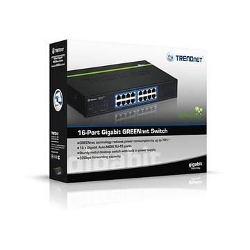 TrendNet TEG-S16DG 16Porte