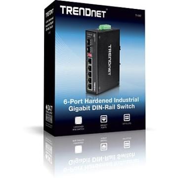 TrendNet TI-G62 No gestito L2 Gigabit Ethernet (10/100/1000) Nero