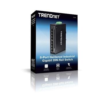 TrendNet TI-G80 Non gestito L2 Gigabit Nero