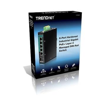 TrendNet TI-PG541i Gestito L2+ Gigabit PoE Nero