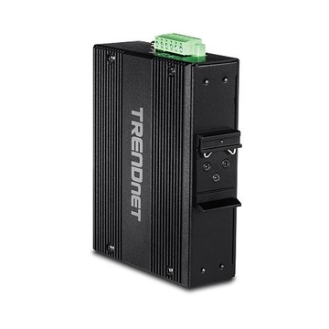 TrendNet TI-UPG62 switch di rete Non gestito L2 Gigabit Nero PoE