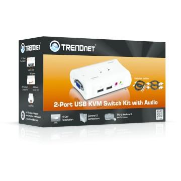 TrendNet TK-209K switch per keyboard-video-mouse (kvm)