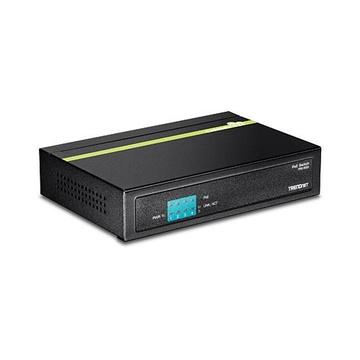 TrendNet TPE-S50 Non gestito L2 Fast Ethernet PoE Nero