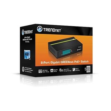 TrendNet TPE-TG80G PoE Nero