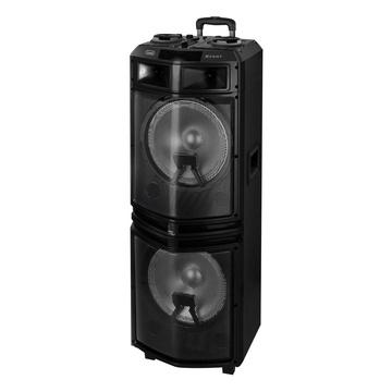 TREVI XF 3200 PRO 160 W Sistema di altoparlanti portatile 2.1 Nero