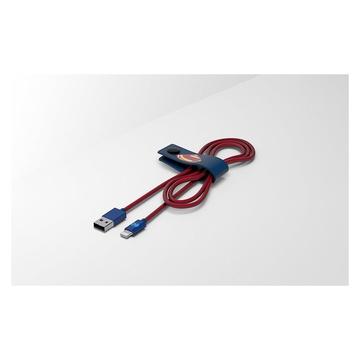 Tribe CLR23301 cavo Lightning 1,2 m Blu, Rosso