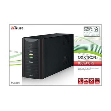 Trust Oxxtron gruppo di continuità (UPS) 800 VA 2 presa(e) AC