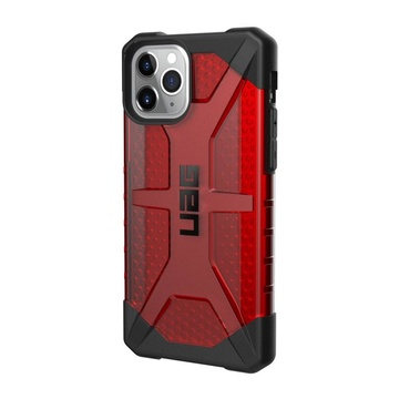 "UAG Urban Armor Gear 5.8"" Cover iPhone 11 Pro Motivo a pois Nero, Rosso"