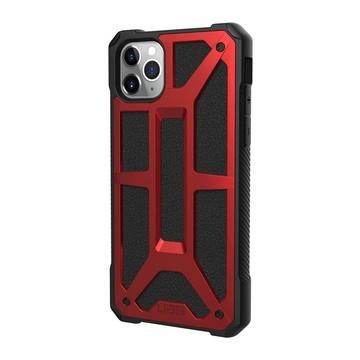 """UAG Urban Armor Gear 6.5"""" Cover iPhone 11 Pro Max Nero, Rosso"""