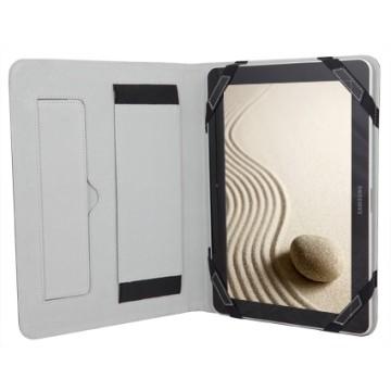 URBAN FACTORY Custodia Sleeve ecopelle Nero/Silver Universale