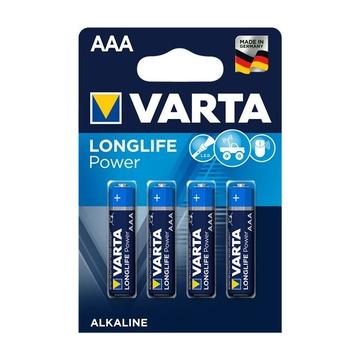 Varta Longlife Power AAA Monouso Mini Stilo AAA Alcalino