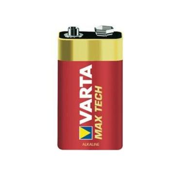 Varta MAX TECH Alkaline 9V Batteria monouso Alcalino