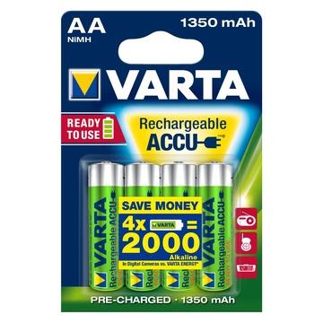 Varta Ready2Use HR06 1350 mAh Ricaricabile NiHM