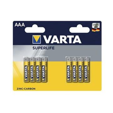 Varta SUPERLIFE AAA Batteria monouso Mini Stilo AAA Zinco-Carbonio
