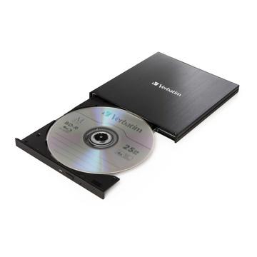 Verbatim 43888 Blu-Ray DVD Combo Esterno Nero