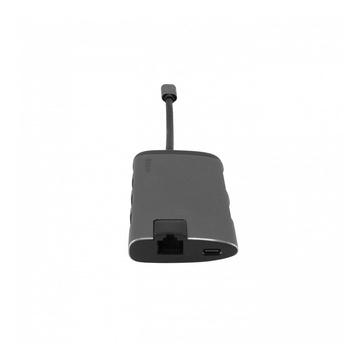Verbatim 49142 hub di interfaccia USB 3.0 (3.1 Gen 1) Type-C 1000 Mbit/s Nero, Argento