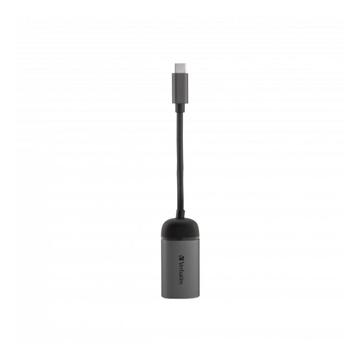 Verbatim 49146 hub di interfaccia USB 3.0 (3.1 Gen 1) Type-C 1000 Mbit/s Nero, Argento