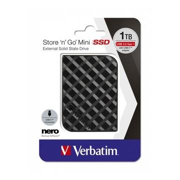 Verbatim 53237 Store 'n' Go USB 3.1 1TB Nero