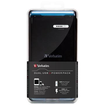 Verbatim 98343 Portatile Dual USB 12000mAh