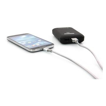 Verbatim Cavo Micro USB di Ricarica e Sincronizzazione 100 cm, colore Argento