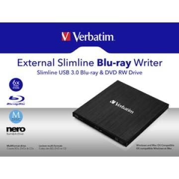 Verbatim Mobile Blue-ray ReWriter USB 3.0