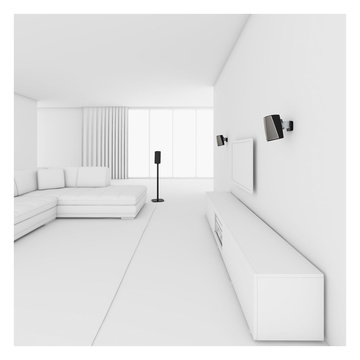 Vogel's SOUND 5313 Supporto da pavimento per HEOS 1 / HEOS 3 Bianco