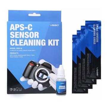 VSGO Kit completo per la pulizia sensori APSC Nikon Canon Sony Pentax Olympus e Altre Fotocamere Mirrorless / Reflex