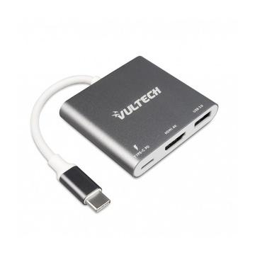 Vultech ATC-01 cavo di interfaccia e adattatore USB Type-C USB A Argento