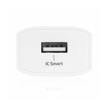 Vultech Caricabatteria da parete USB 2,4 A 12W con tecnologia IC-SMART