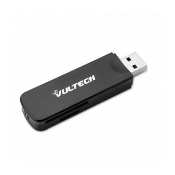 Vultech CRX-02USB3 lettore di schede Nero USB 3.0 (3.1 Gen 1) Type-A