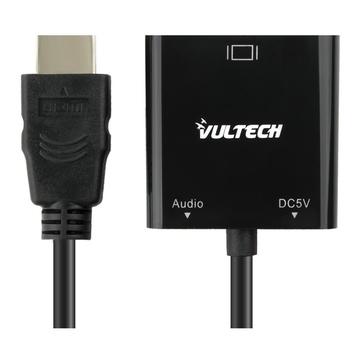 Vultech SN21707 cavo di interfaccia e adattatore HDMI VGA Nero