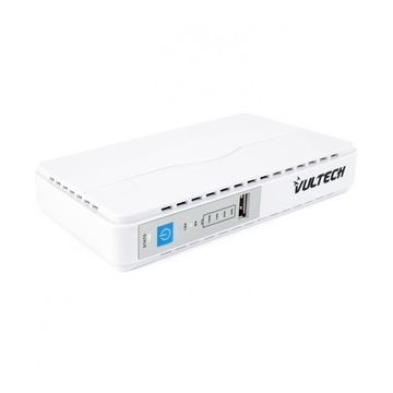 Vultech UPS30PW-DC A linea interattiva 650 VA 30 W 1 presa(e) AC