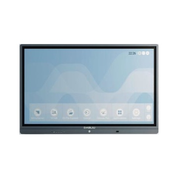 "Wacebo DBLWE-E8X-75-40T-4K Smart 75"" 4K Touch USB / Bluetooth Grigio"