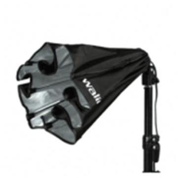 Walimex Daylight Set 250 50W Con Diffusore Softbox Octagon