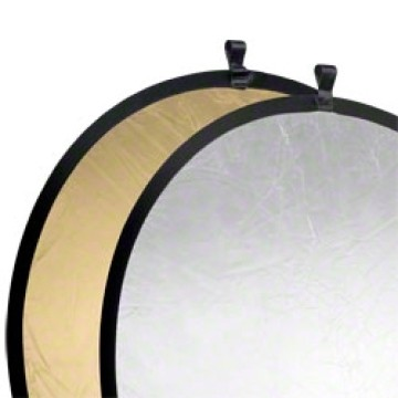 Walimex Pannello riflettente pieghevole Gold - Silver Ø107cm
