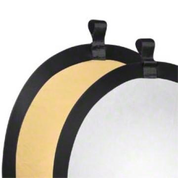 Walimex Pannello riflettente pieghevole Gold - Silver Ø56cm