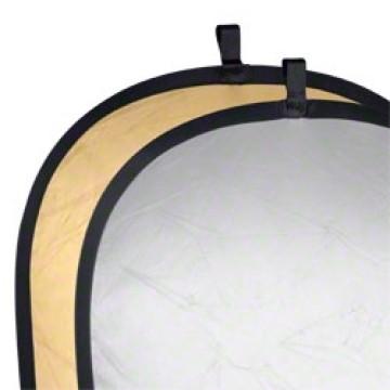 Walimex Pannello riflettente pieghevole Gold - Silver 91x122cm