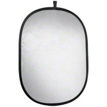 Walimex Pannello riflettente pieghevole Silver - Bianco 91x122cm