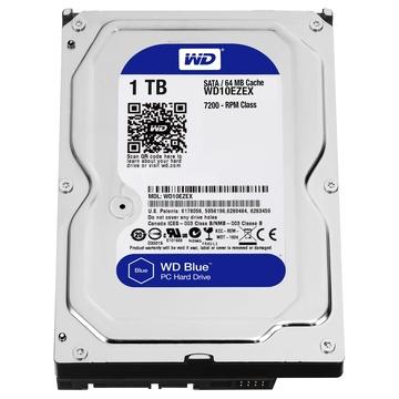 """Western Digital HDD WD Blue 3.5"""" SATA3 1TB 64MB 7200"""