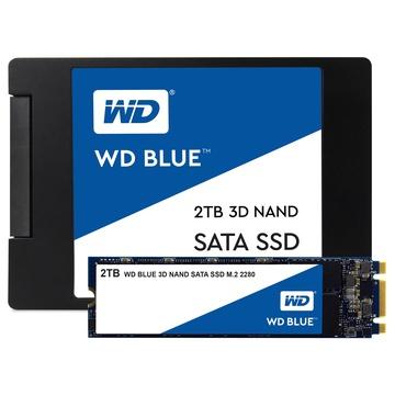 Western Digital WDBK3U0020BNC M.2 2000 GB SATA III 3D TLC Blu